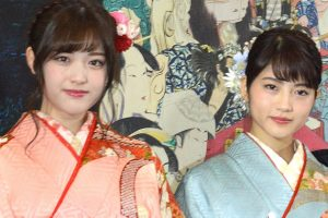 松村沙友里・若月佑美
