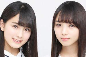 18枚目シングルでwセンターを務めた左:大園桃子さん 右:与田祐希さん