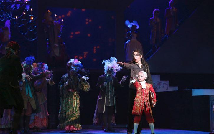 2014年上演のミュージカル「モーツァルト!」